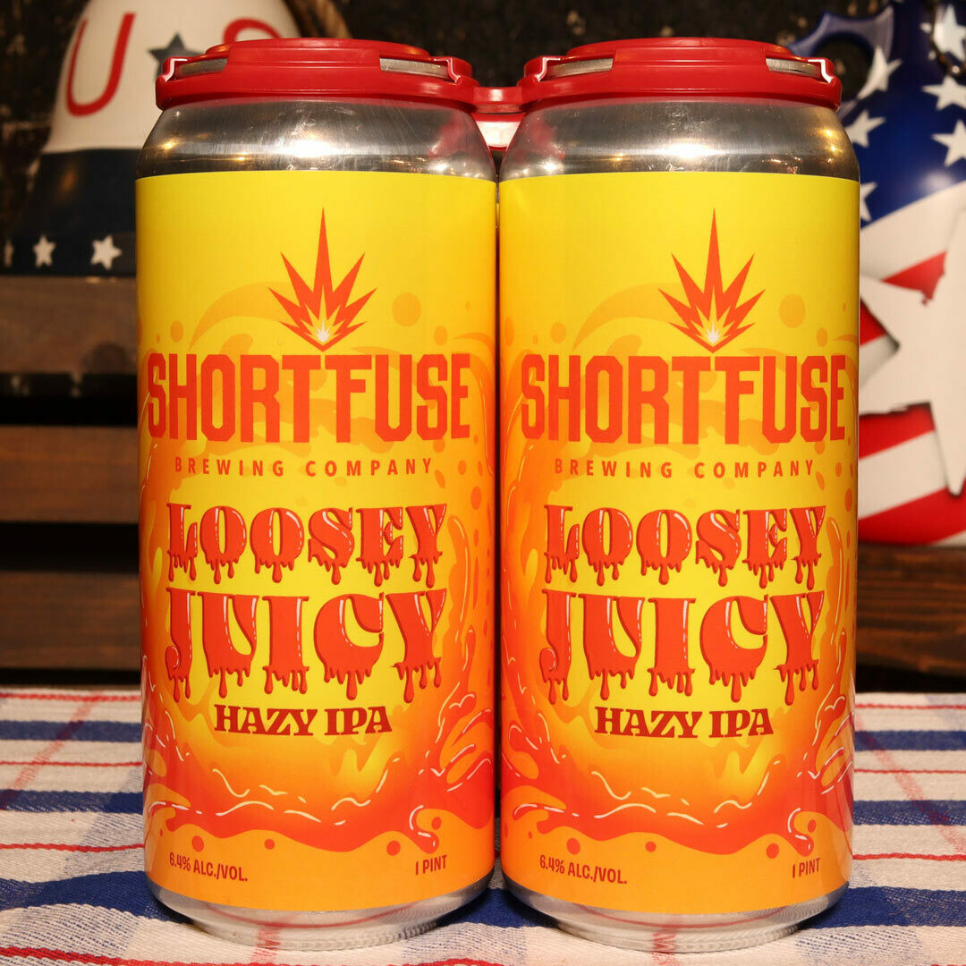 Short Fuse Loosey Juicy NEIPA 16 FL. OZ. 4PK Cans