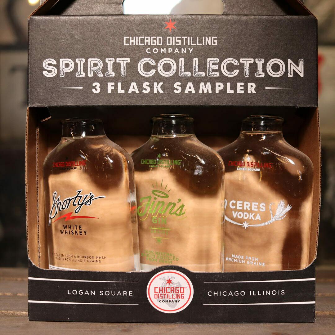 Chicago Distilling white spirits Gift Pack 3 CT.