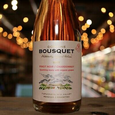 Domaine Bousquet Sparkling Brut Rosé Mendoza Argentina 750ml.