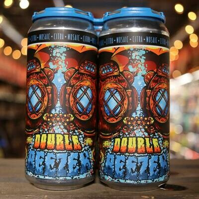 Old Irving Double Beezer DDH DIPA 16 FL. OZ. 4PK Cans