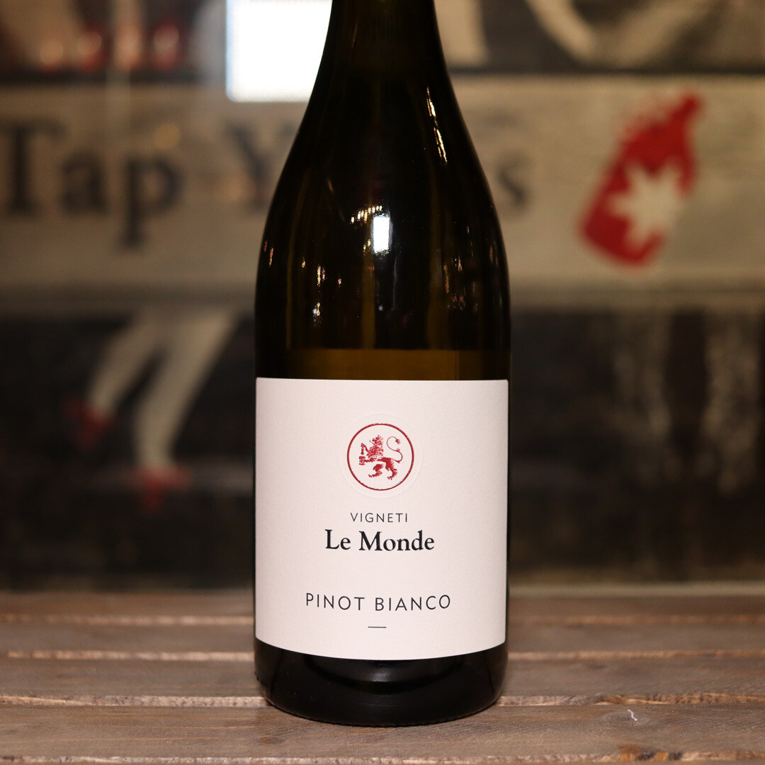 Vigneti Le Monde Pinot Bianco Friuli Italy 750ml.