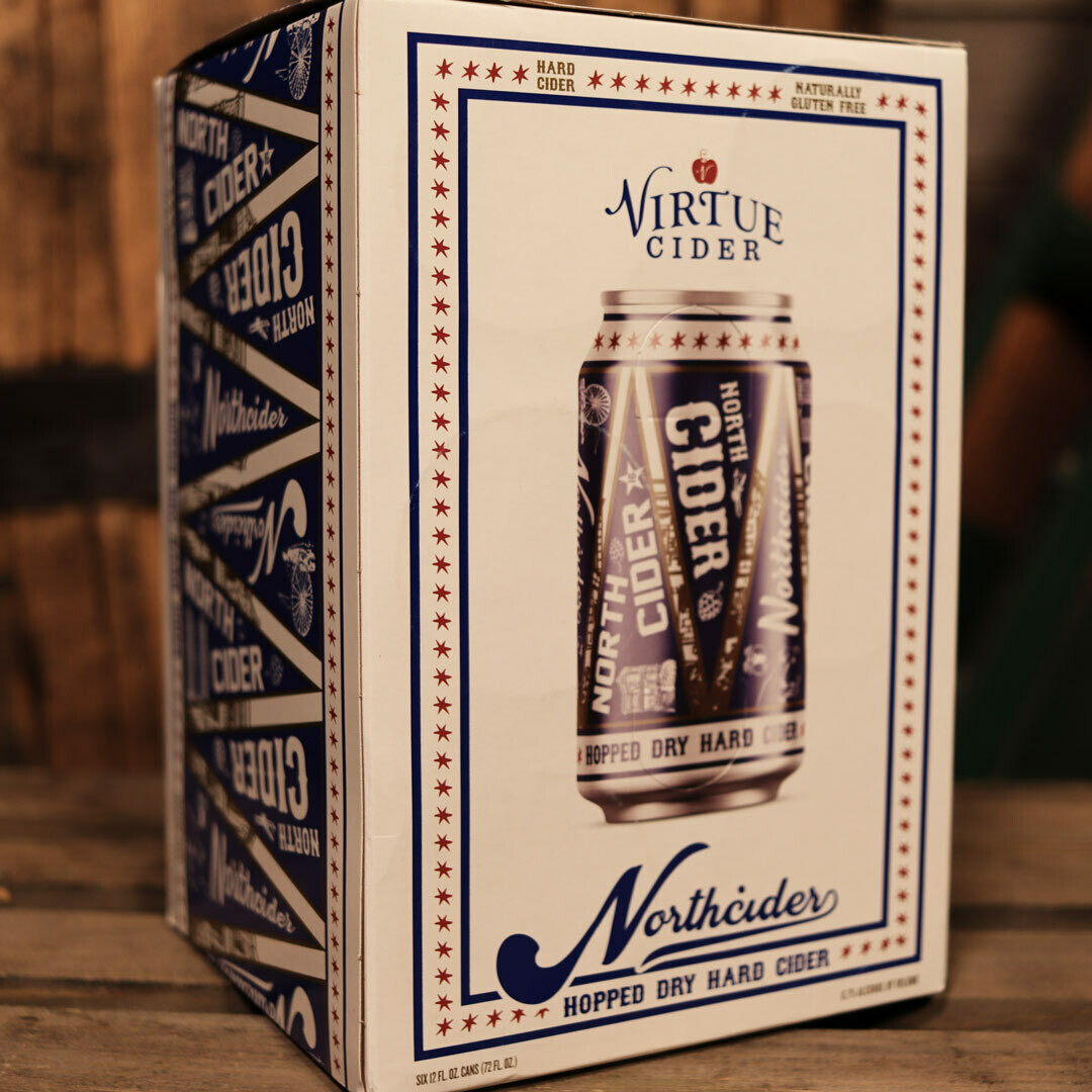 Virtue Cider North Cider Hopped Dry 12 FL. OZ. 6PK Cans