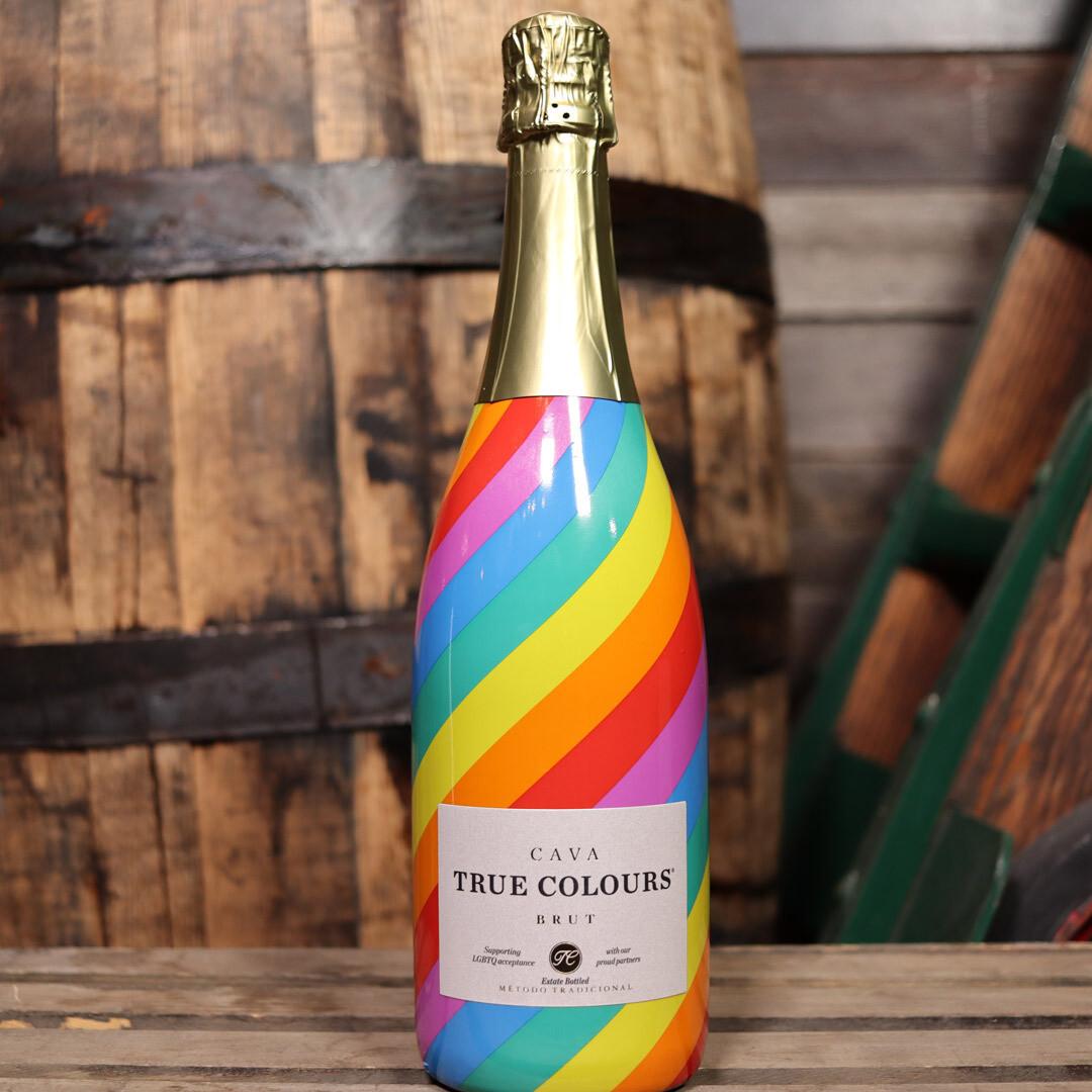 True Colors Cava Supporting LGBTQ Acceptance Spain 750ml.