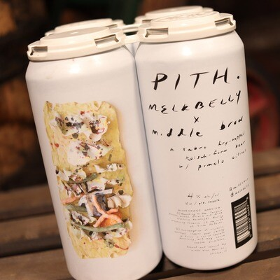 Middle Brow Pith Dry-Hopped Kolsch 16 FL. OZ. 4PK Cans