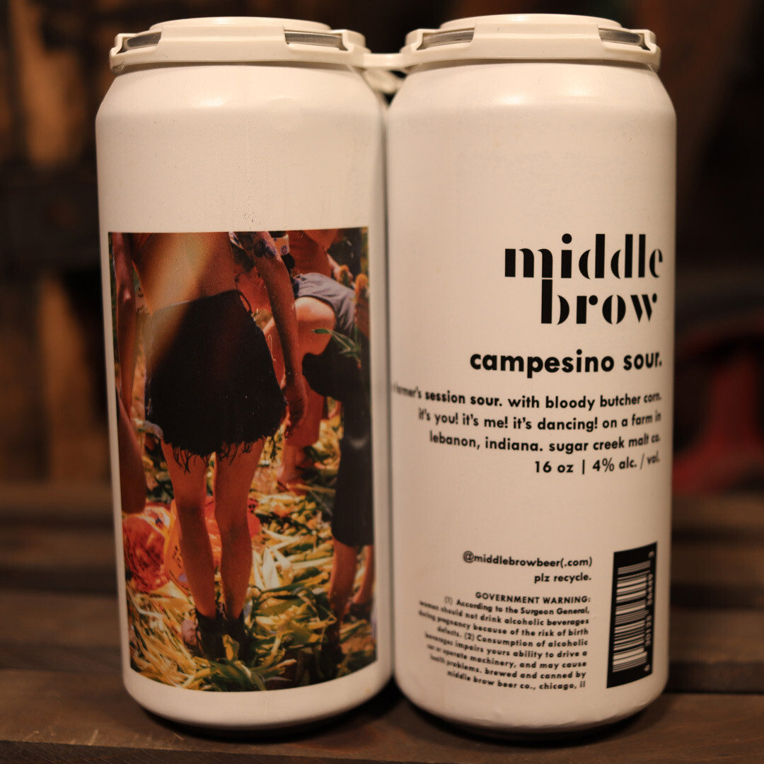 Middle Brow Campesino Sour 16 FL. OZ. 4PK Cans