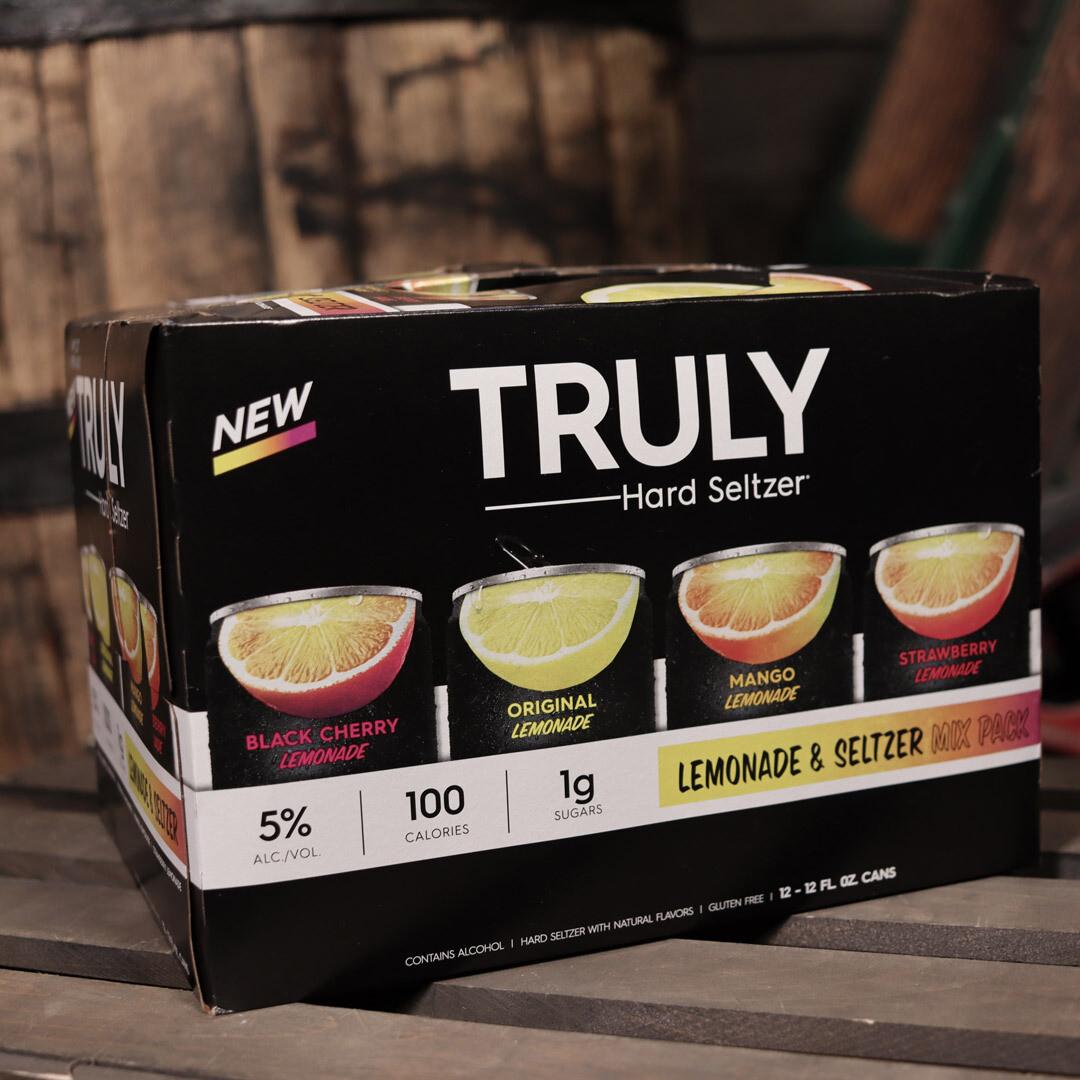 Truly Hard Seltzer Lemonade Variety Pack 12 FL. OZ. 12PK Cans