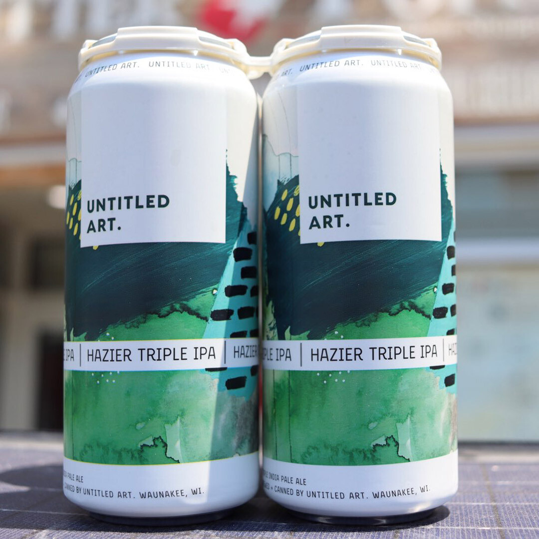 Untitled Art Hazier Triple IPA 16 FL. OZ. 4PK Cans