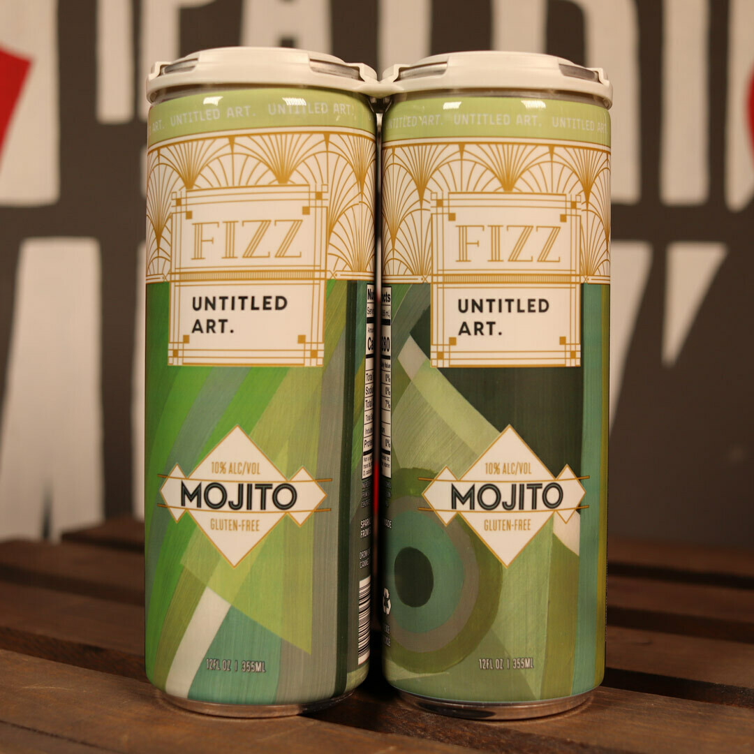 Untitled Art Sparkling Cocktail Fizz Mojito 12 FL. OZ. 4PK Cans