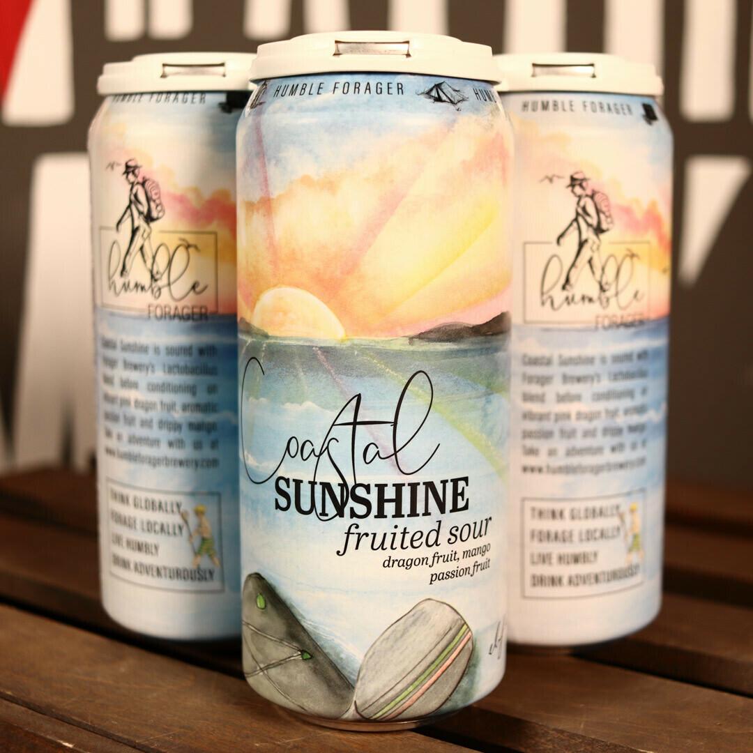 Humble Forager Vol. #2 Coastal Sunshine Sour Dragonfruit 16 FL. OZ. 4PK Cans