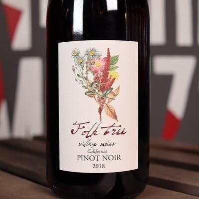 Folk Tree Village Series Pinot Noir Buelton California 750ml.