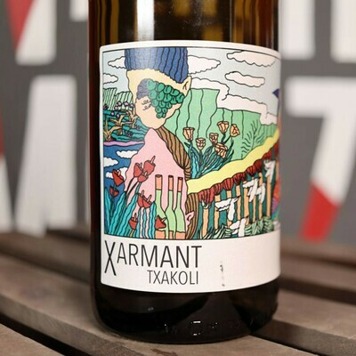 Artomana Txakolina Xarmant White Wine Spain 750ml