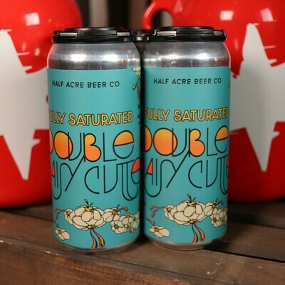 Half Acre Fully Saturated Double Daisy Cutter Double Pale Ale 16 FL. OZ. 4PK Cans