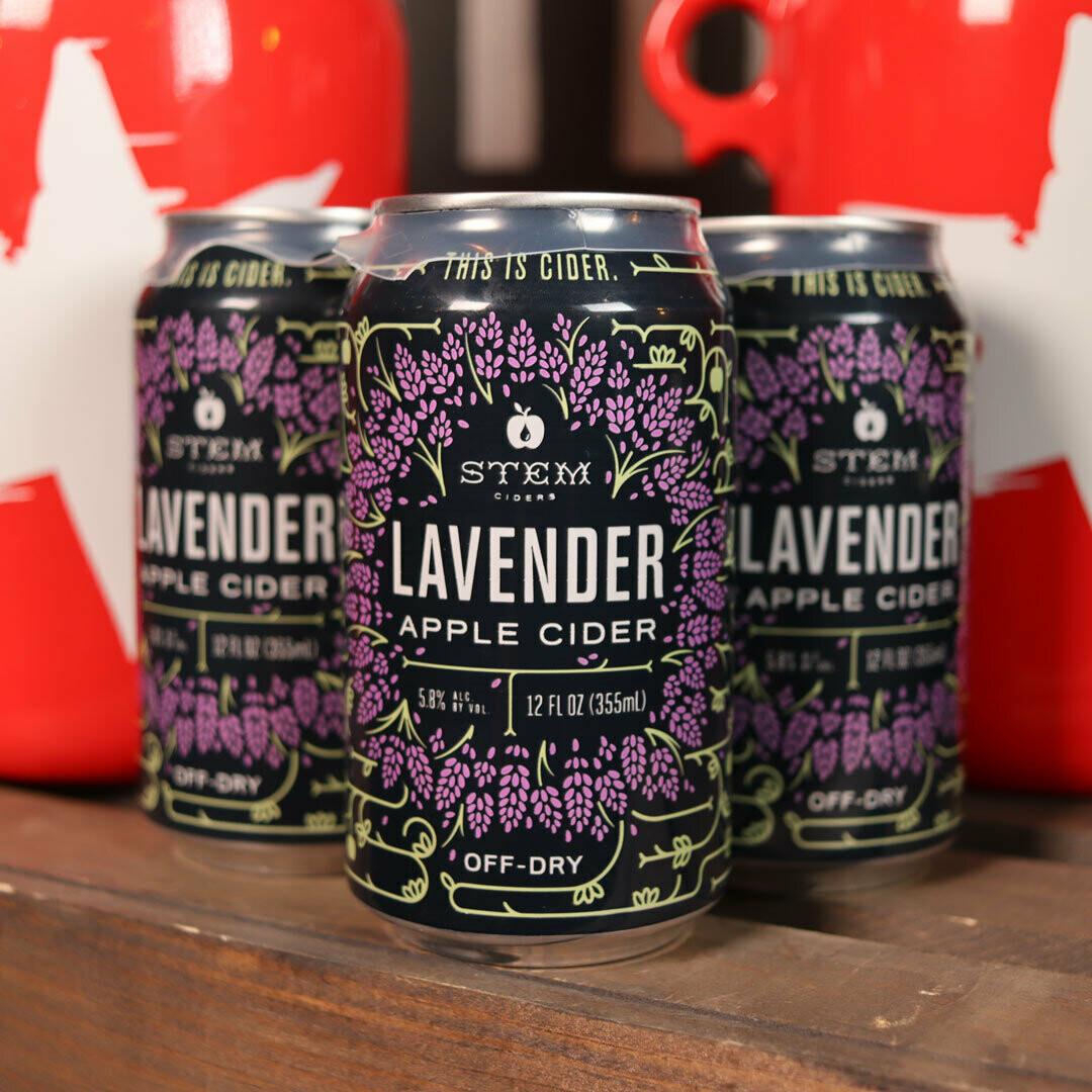 Stem Cider Lavender Off-Dry 12 FL. OZ. 4PK Cans