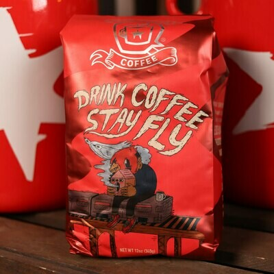 Dark Matter Drink Coffee Stay Fly Whole Bean Coffee 12oz Bag