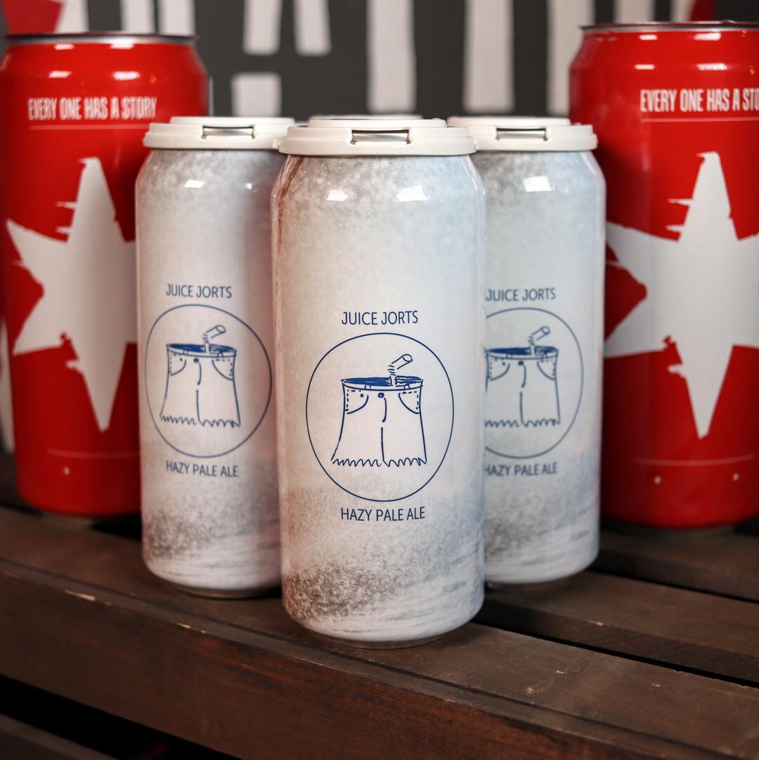 Maplewood Juice Jorts Hazy Pale Ale 16 FL. OZ. 4PK Cans