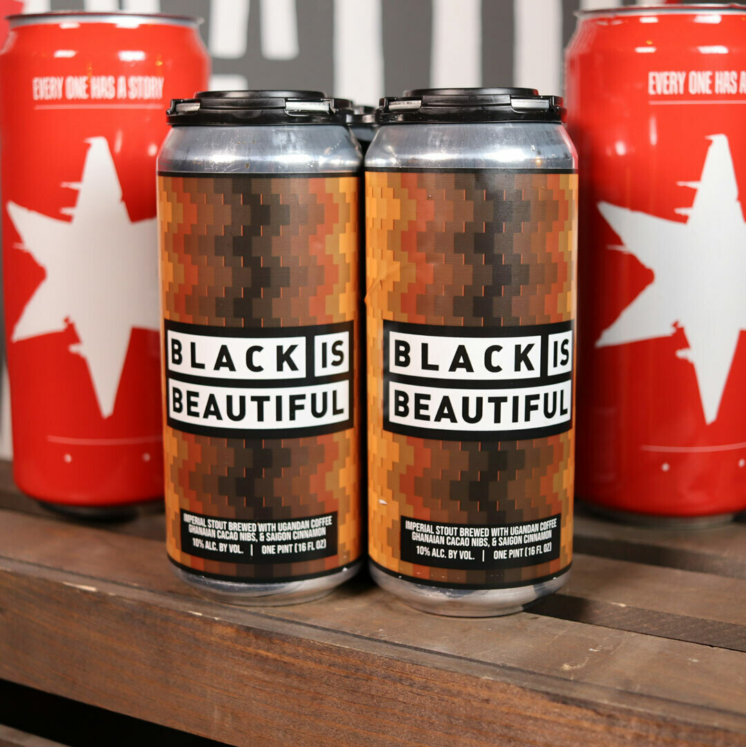 Foreign Exchange Black Is Beautiful Imperial Stout 16 FL. OZ. 4PK Cans
