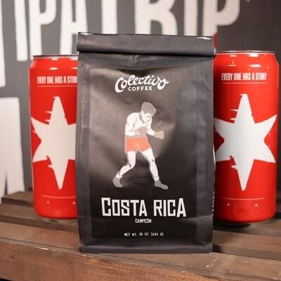 Colectivo Costa Rica Campeon Whole Beans 16 OZ. Bag