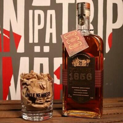 Uncle Nearest 1856 Whiskey 750ml.