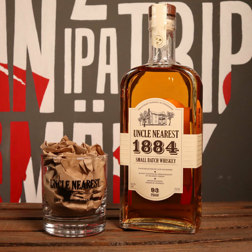 Uncle Nearest 1884 Small Batch Whiskey 750ml.