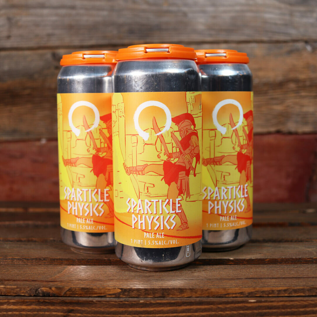 Equilibrium Brewery Sparticle Physics Pale Ale 16 FL. OZ. 4PK Cans