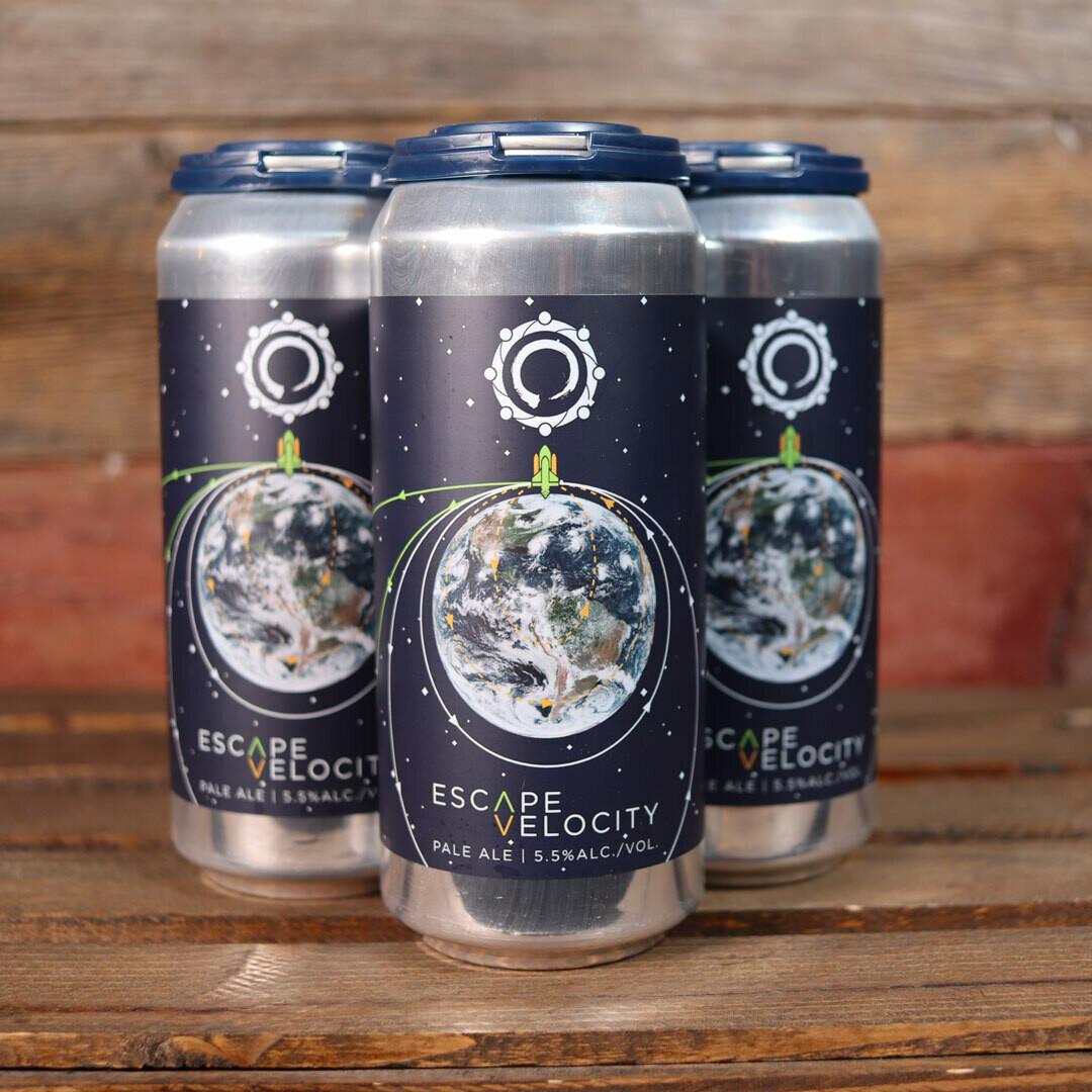 Equilibrium Brewery Escape Velocity Pale Ale 16 FL. OZ. 4PK Cans