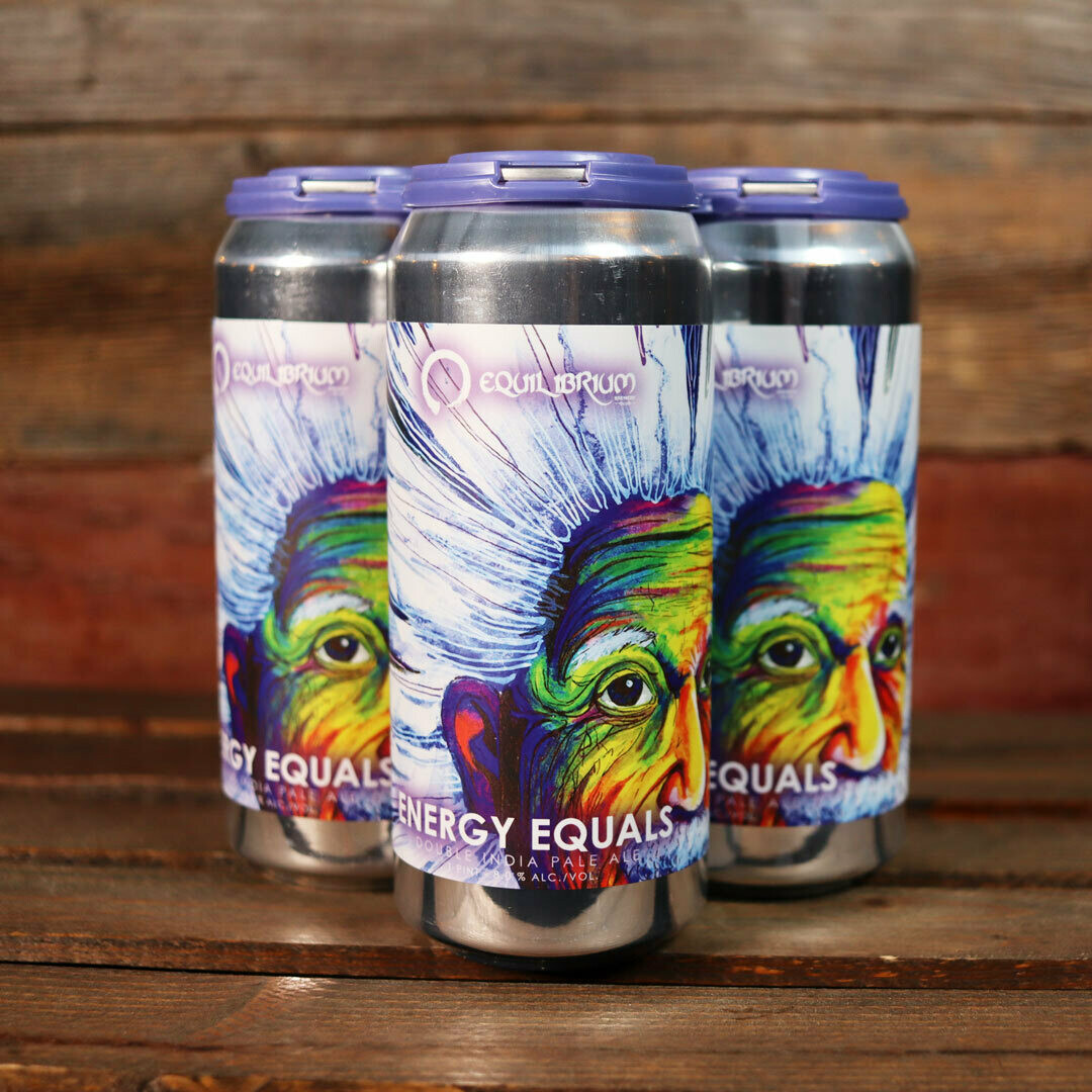 Equilibrium Brewery Energy Equals DIPA 16 FL. OZ. 4PK Cans