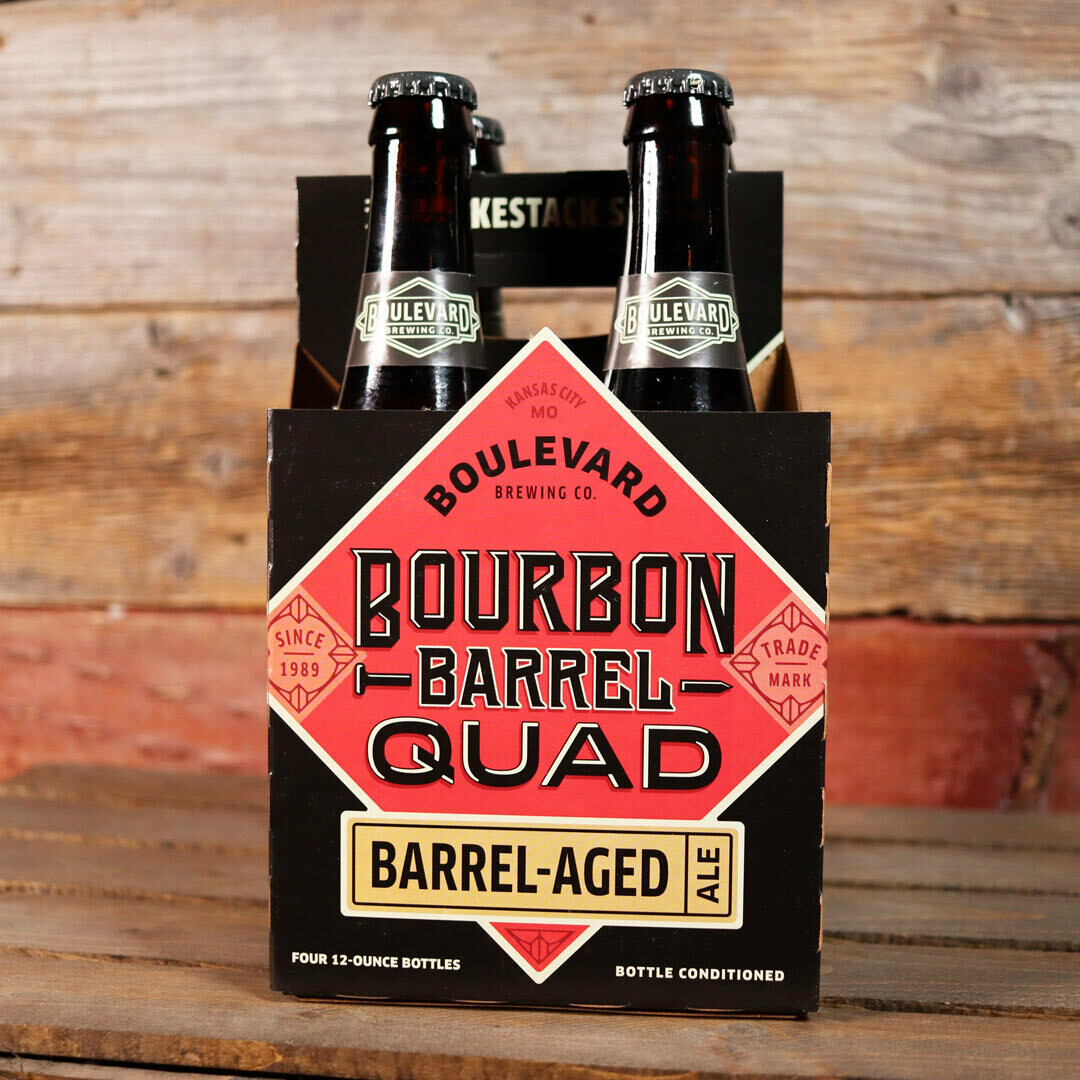 Boulevard Bourbon Barrel Quad 12 FL. OZ. 4PK