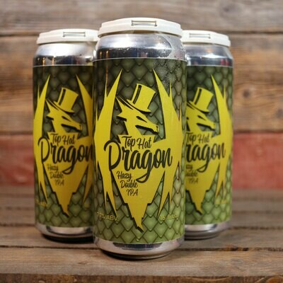 Riverlands Top Hat Dragon Hazy DIPA 16 FL. OZ. 4PK Cans
