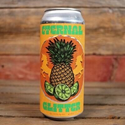 Pipeworks Eternal Glitter Golden Ale w/Pineapple & Lime Juice 16 FL. OZ. Can