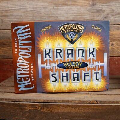 Metropolitan Krank Shaft Kolsch 12 FL. OZ. 12PK Cans