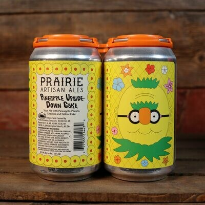 Prairie Pineapple Upside-Down Cake Sour Ale 12 FL. OZ. 4PK Cans
