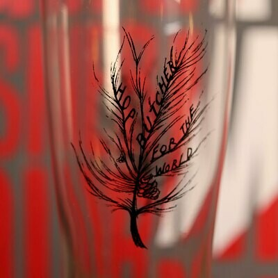 Hop Butcher Arc Oslo Tree Glassware 1 ea.