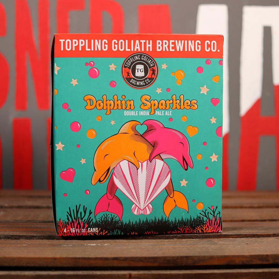 Toppling Goliath Dolphin Sparkles DIPA 16 FL. OZ. 4PK Cans