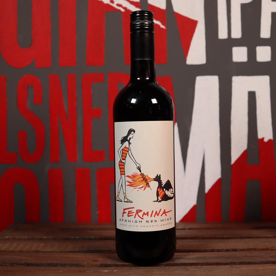 Fermina Organic Spanish Red Spain 750ml.