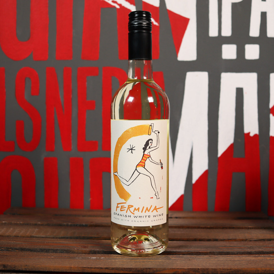 Fermina Organic Spanish White Spain 750ml.