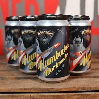 Metropolitan Humbucker Dortmunder Lager 12 FL. OZ. 6PK Cans