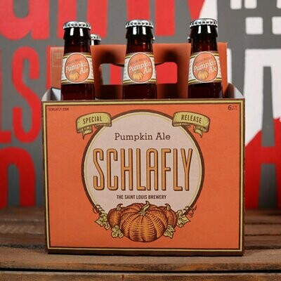 Schlafly Pumpkin Ale 12 FL. OZ. 6PK
