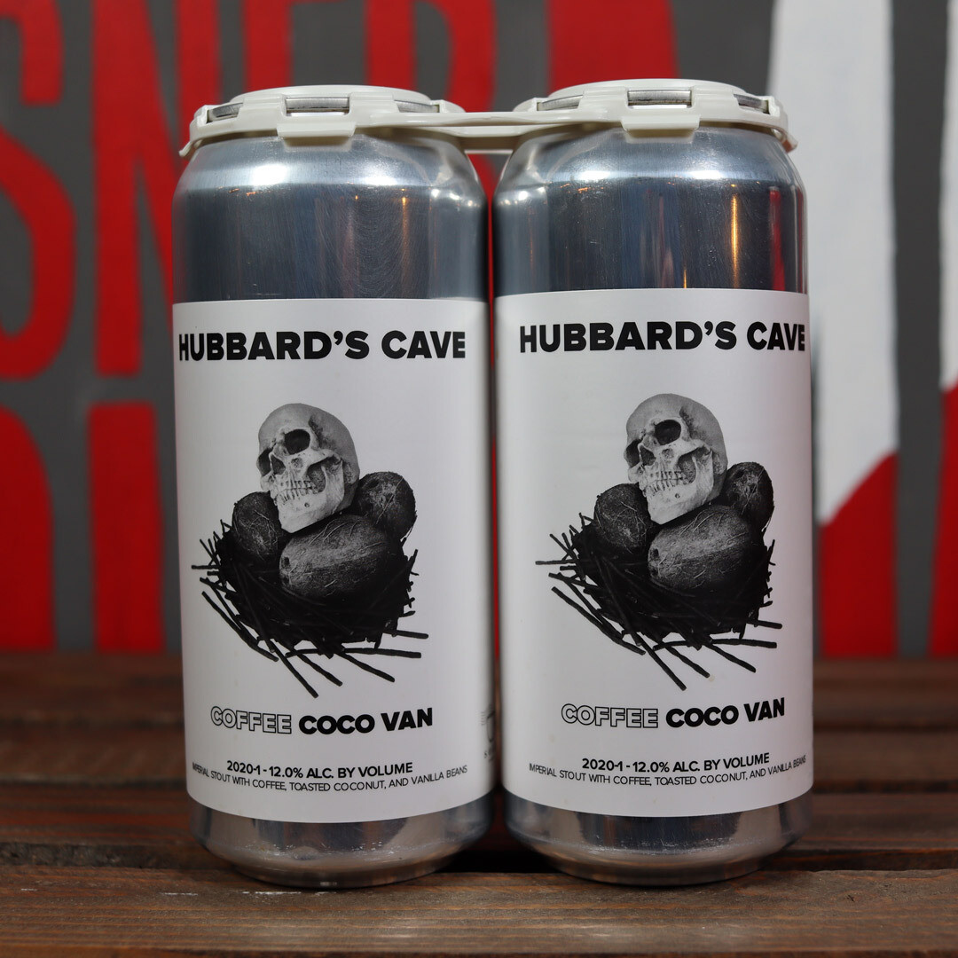 Hubbard's Cave Coffee Coco Van Stout 16 FL. OZ. 2PK Cans