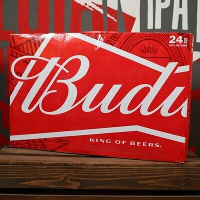 Budweiser 12 FL. OZ. 24PK Cans