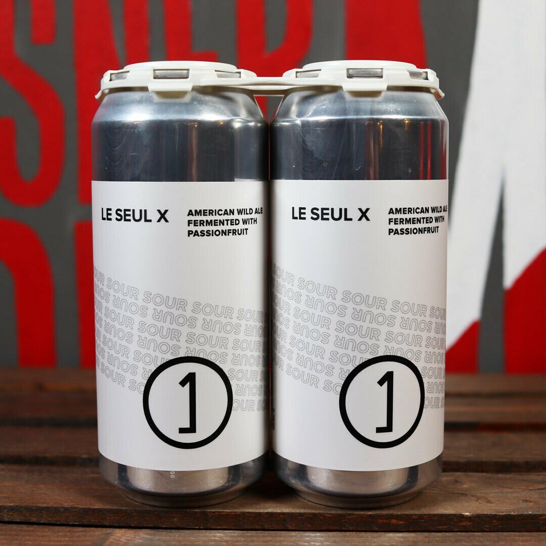 Une Annee Le Seul X WIld Ale w/Passionfruit 16 FL. OZ. 2PK Cans