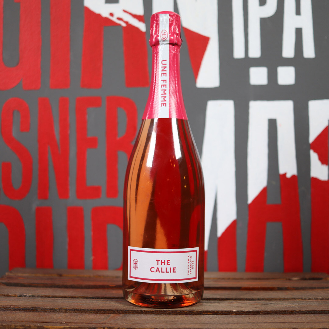 Une Femme The Callie Sparkling Rosé Napa Valley California 750ml.