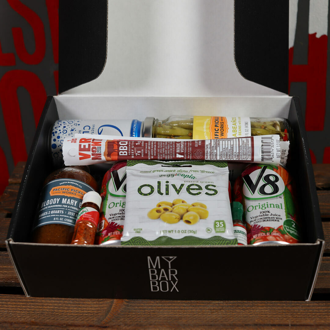My Bar Box Bloody Mary Chicago Cocktail Kit Makes ~12 Drinks *Spirits Sold Separately