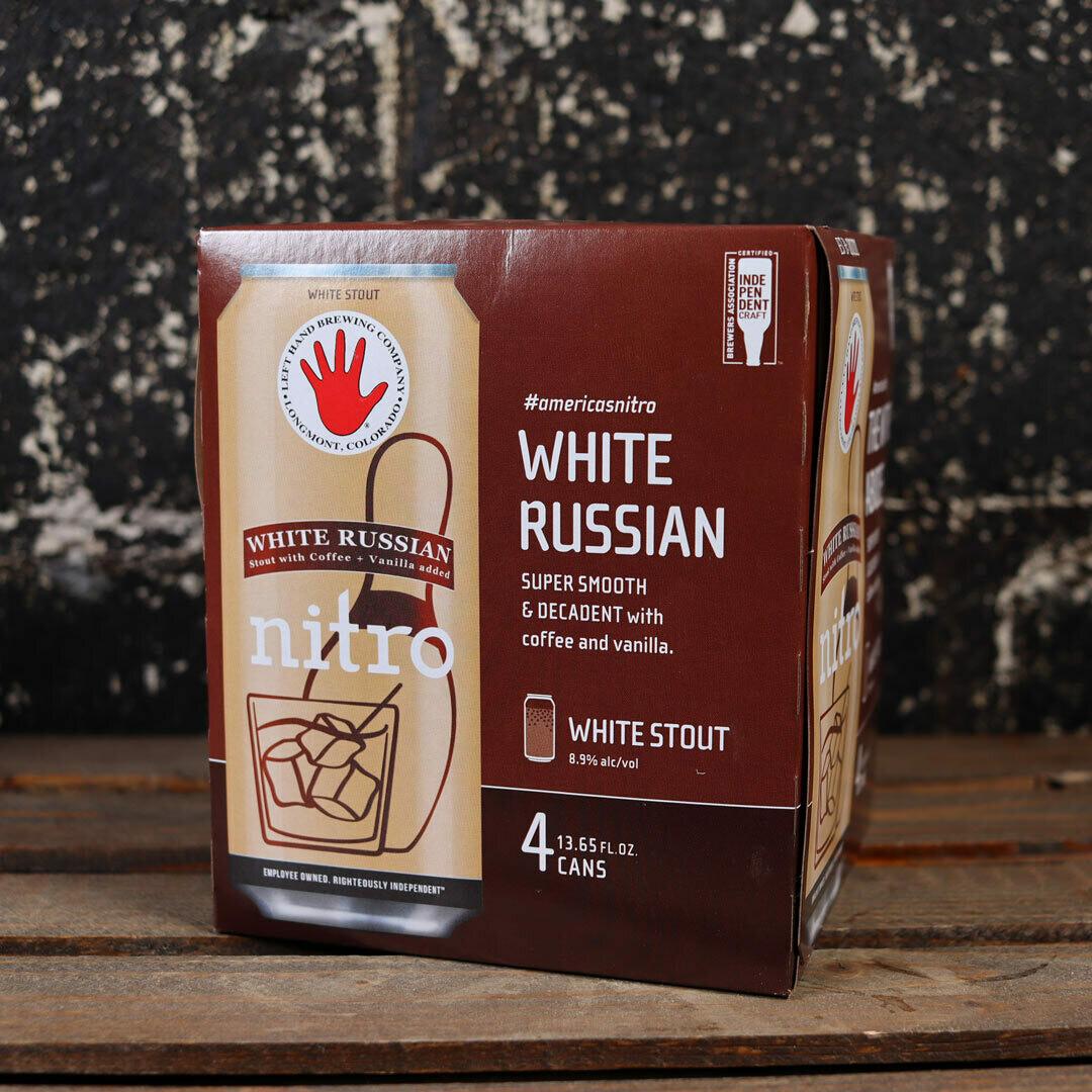 Left Hand White Russian White Stout 13.65 FL. OZ. 4PK Cans