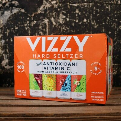 Vizzy Hard Seltzer Variety Pack 12 FL. OZ. 12PK Cans