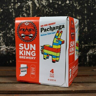 Sun King Pachanga Mexican Style Lager 16 FL. OZ. 4PK Cans