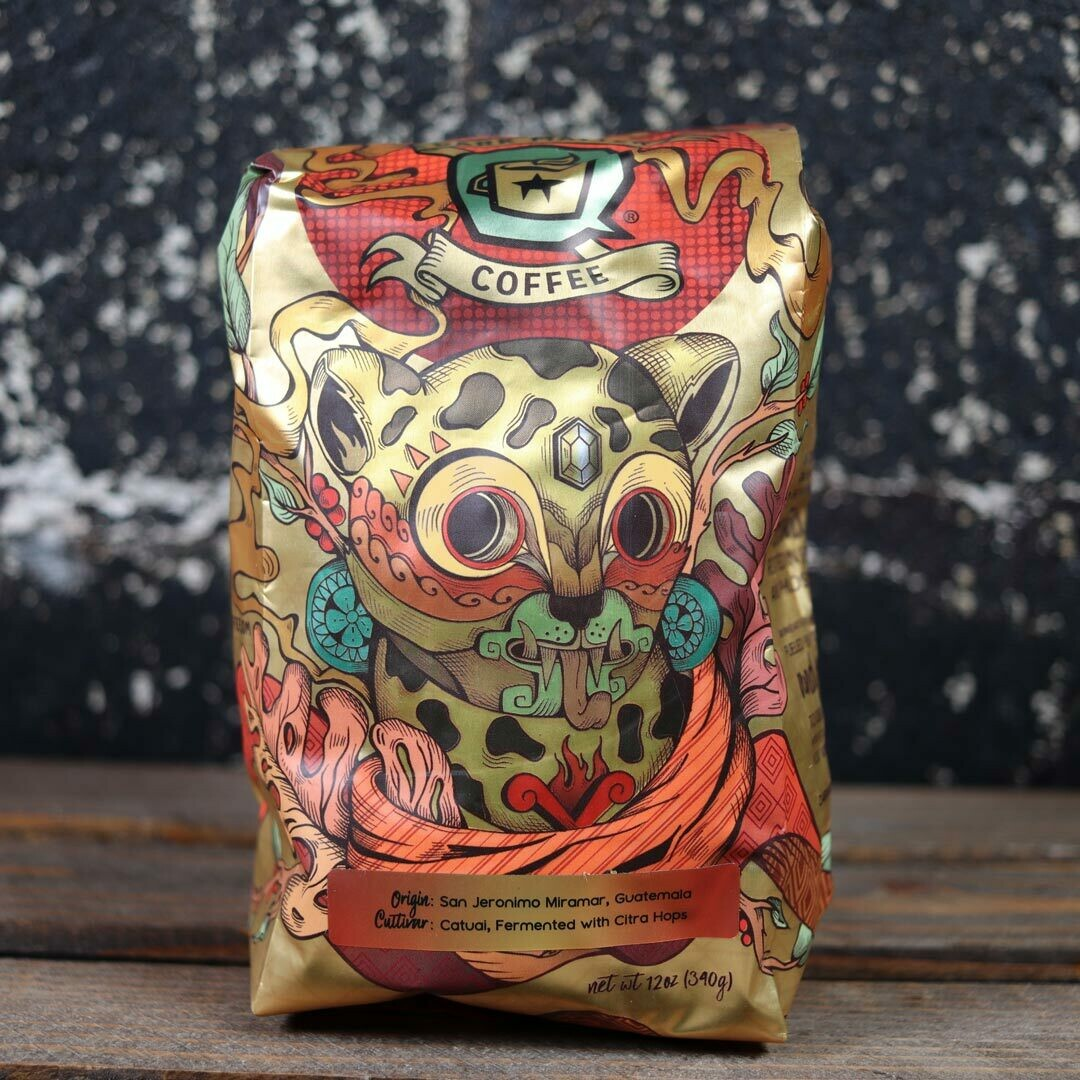 Dark Matter Fuego Whole Bean Coffee 12oz Bag
