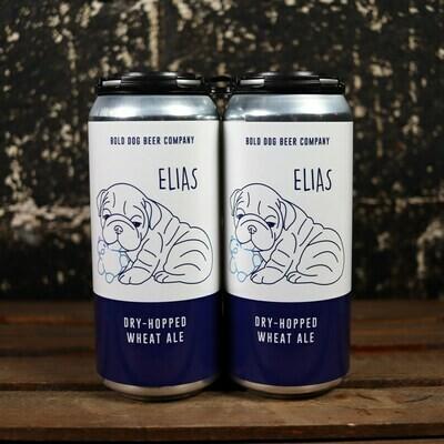 Bold Dog Elias Dry-Hopped Wheat Ale 16 FL. OZ. 4PK Cans