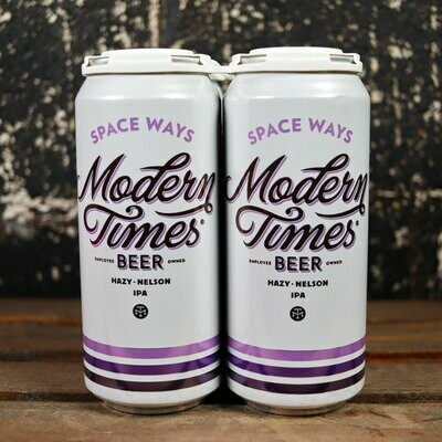 Modern Times Space Ways Hazy IPA 16 FL. OZ. 4PK Cans