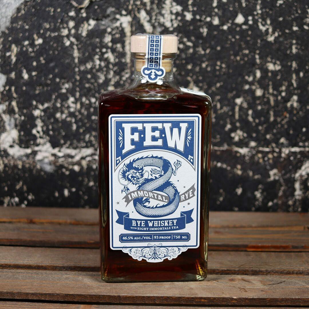 FEW Spirits Immortal Rye Rye Whiskey w/Eight Immortal Tea 750mL