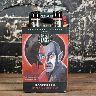 Great Lakes Nosferatu Imperial Red Ale 12 FL. OZ. 4PK